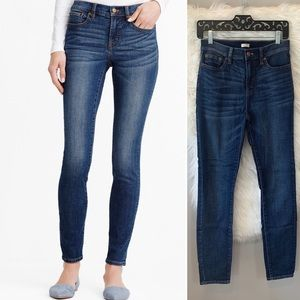 J. Crew • High Waist skinny jeans